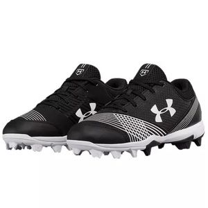 UNDER ARMOUR Glyde RM Softball Cleats -Black/White